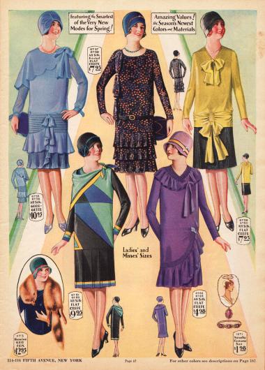 Mode 1929 Artdeco Boulevard
