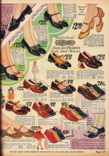 Schuhe für Mädchen.
