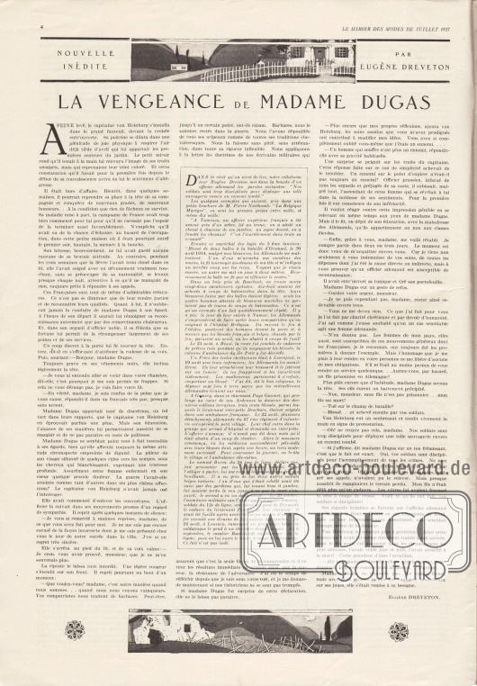 Artikel: Dreveton, Eugène, La Vengeance de Madame Dugas.