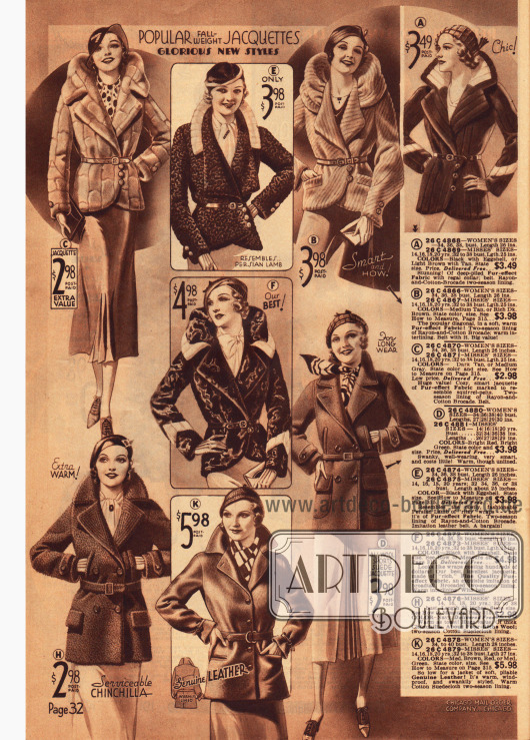 Warme und schicke Jacken und Jäckchen für die elegante Dame.