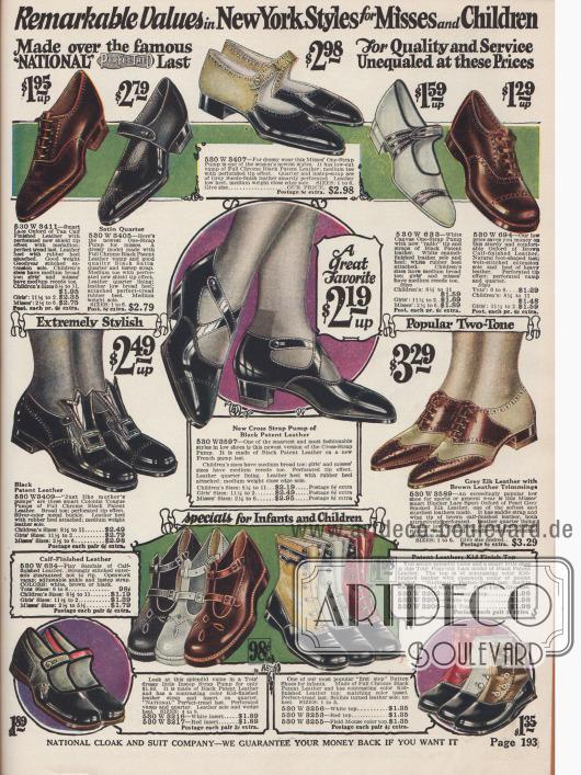 Schuhe für junge Damen und Mädchen für die Tagesmode und auch Sport. Schuhe für Kleinkinder finden sich unten.