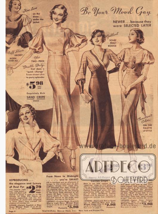 """""""Sei Ihre Stimmung fröhlich oder ernst … Ihr Kleid ist hier"""" - alle Kleider für weniger als 5 Dollar."""