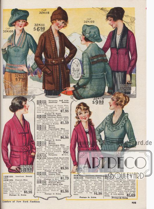 Strickpullover für Damen.