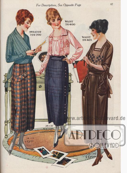 Einfache, legere Kleidung für zu Hause.