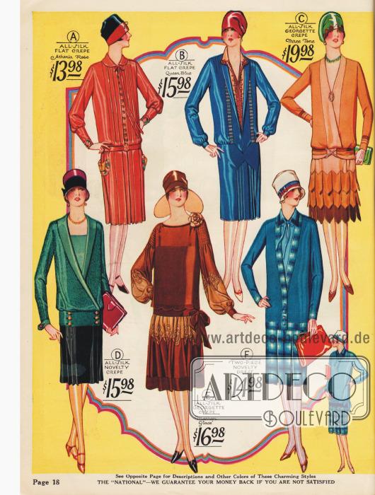Exklusive Kleider in abwechslungsreichen Ausführungen für bis zu 19,98 $.