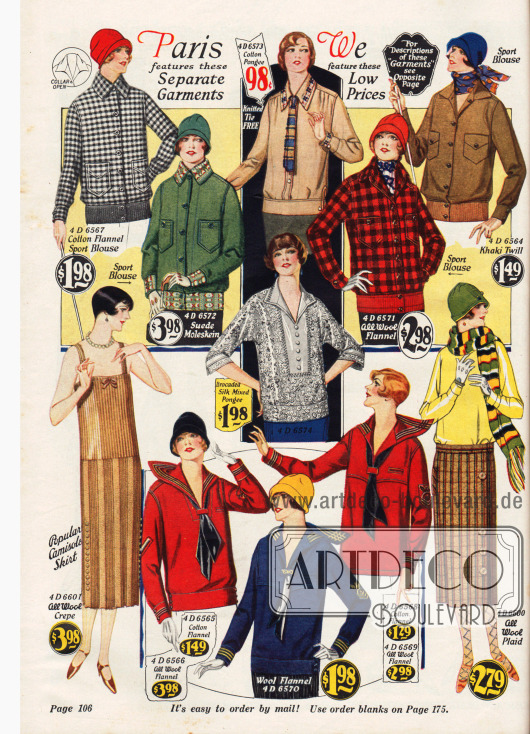 Holzfällerjacken für Frauen aus Wolle und Baumwolle.