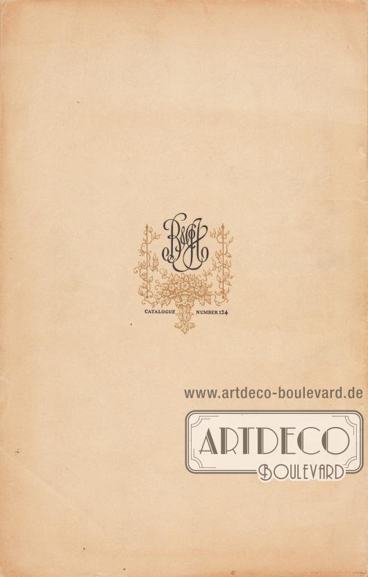 B. Altman & Co., Katalog-Nr. 124. [Rückseite des Katalogs]