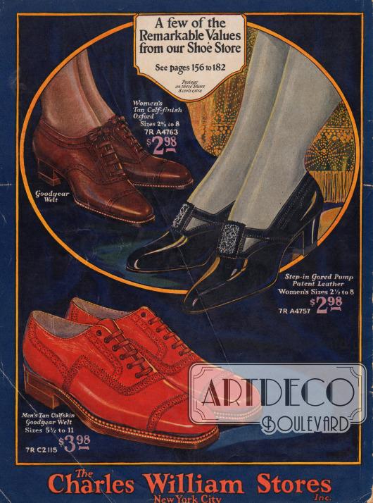 Zwei Schuhpaare für Frauen und eins für Männer.