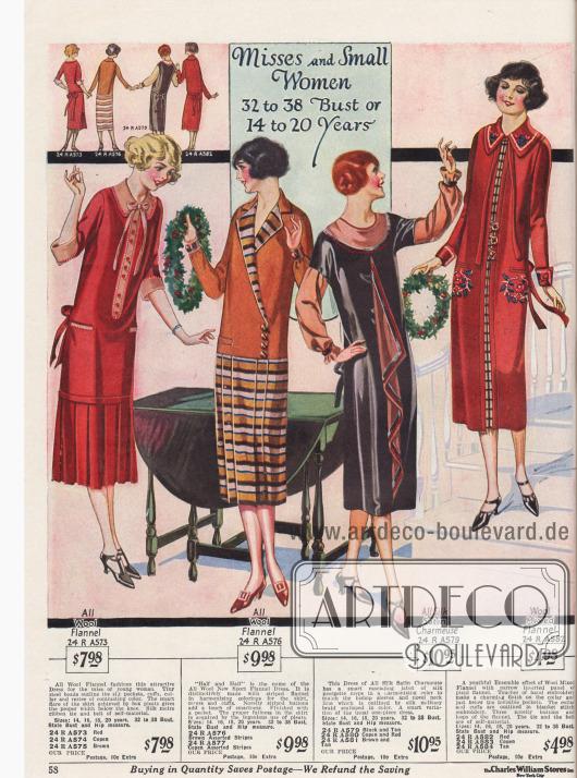 Kleider für junge Frauen bis 20 Jahre.